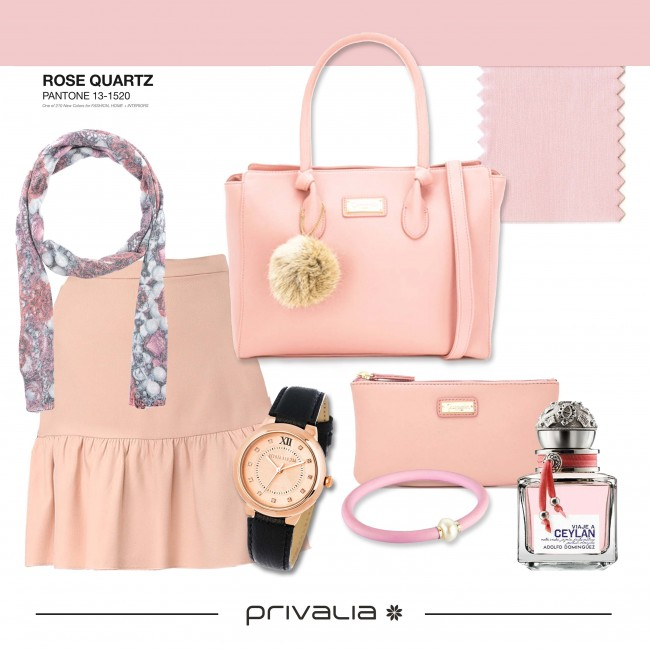 El Color de tendencia de 2016… ¡ROSE QUARTZ! | Privalia Pressroom